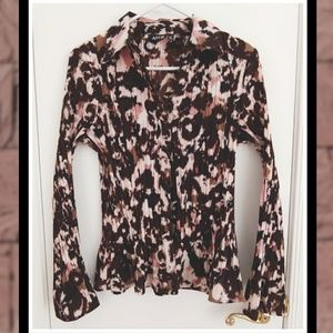 37f4687e5 ... APT 9 V-Neck Pleated Bell Sleeve Blouse TORRID Lace Floral PLUS SIZE  Strapless Top NWT ...